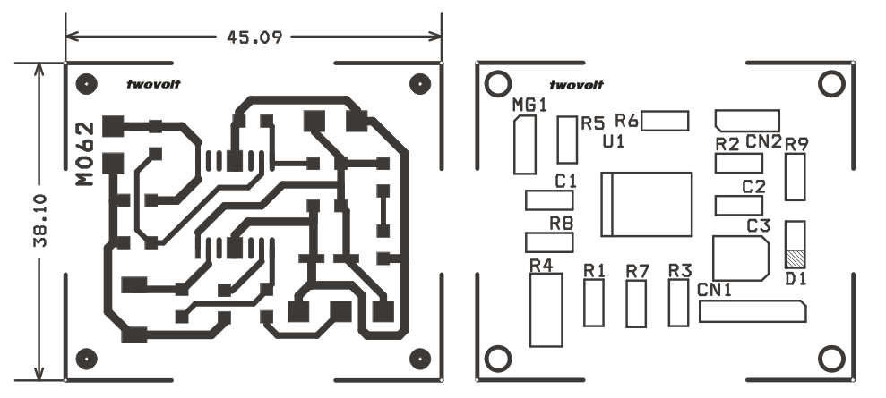 bidirectional dc motor speed controller circuit