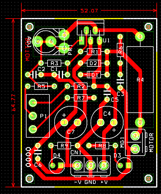 Bi Directional Dc Motor Speed And Direction Controller