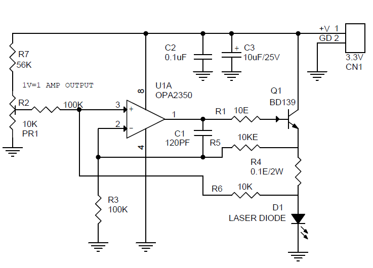 constant-current-laser-diodde-driver-circuit