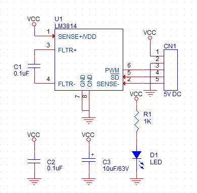 fast-current-gauge-with-ultra-low-loss-sense-element-and-pwm-using-lm3814-1