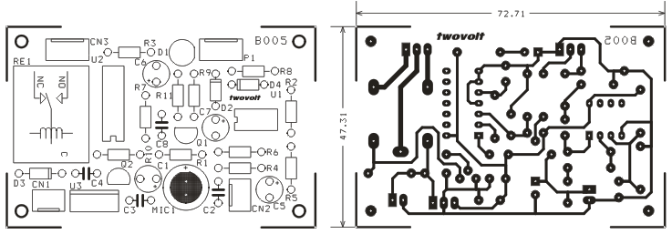 clap switch using lm358  u0026 cd4013