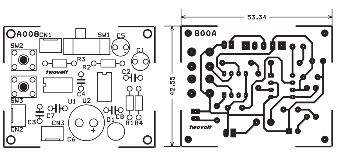 digital potentiometer volume control circuit