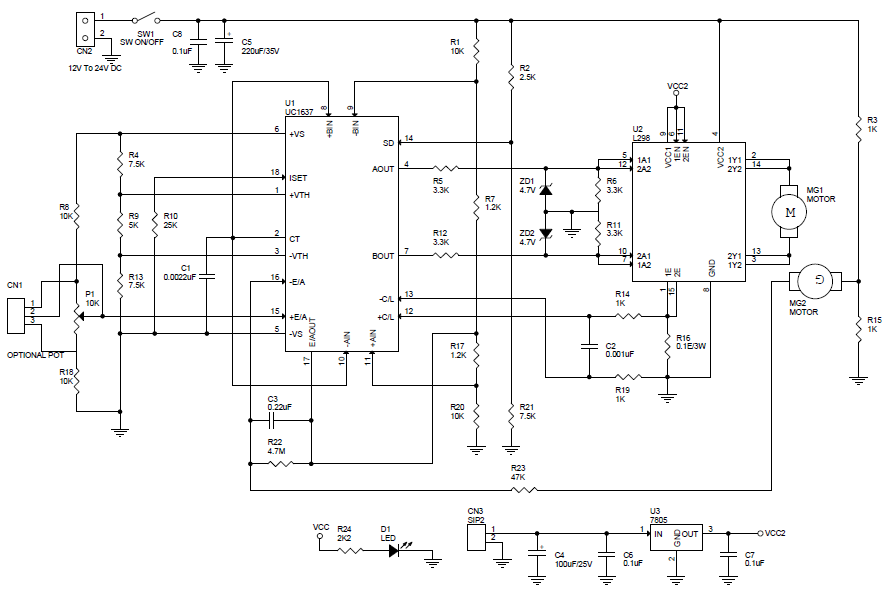 Motor Driver Dc Archives Circuit Ideas I Projects I
