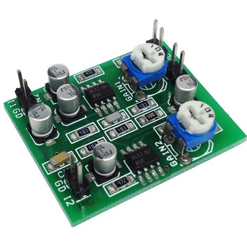 two channel audio signal mixer using lm358 ba4560 op amp circuit ideas i projects i schematics. Black Bedroom Furniture Sets. Home Design Ideas