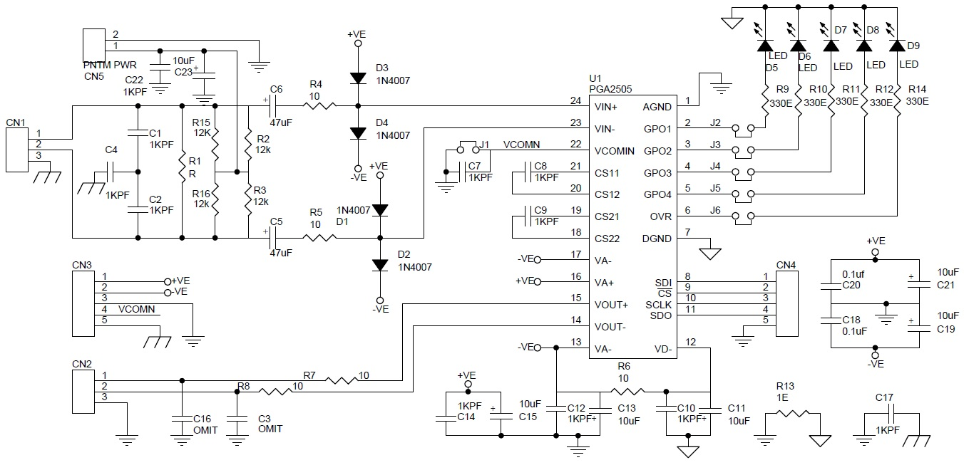 Audio Archives Page 2 Of 7 Circuit Ideas I Projects Schematics Intercom Using Lm386 Ic Diagram Pga2504 Features A Gain Range 9db Through 60db 3db Step Along With Unity Setting