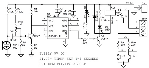 Encapsulated Timer Relay Function Off Delay Status Indicator Wiring Diagram moreover Sound Switch Circuit Board besides Everstart Battery Charger Wiring Diagram as well Electrical Power Circuits also 12v Timer Relay Wiring Diagram. on 12vdc delay timer circuit