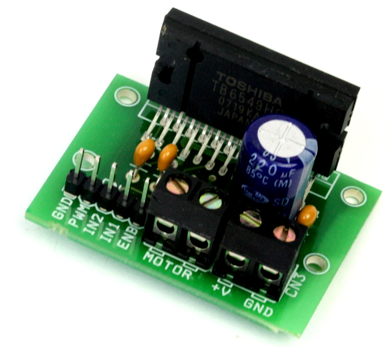 4 5a H Bridge Dc Motor Driver Module Using Tb6549hq
