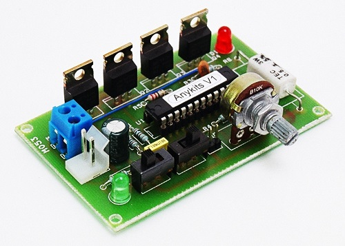 5a dc motor speed and direction controller using mc33035 for Dc motor driver ic