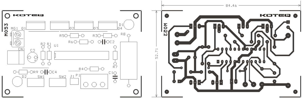 5A DC Motor Speed And Direction Controller Using MC33035 - Circuit ...