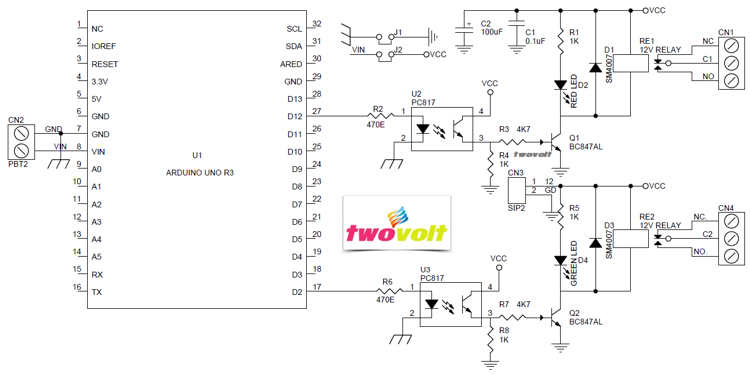 Relay driver solid state relay archives circuit ideas i power battery terminal pbt for easy relay output connection ccuart