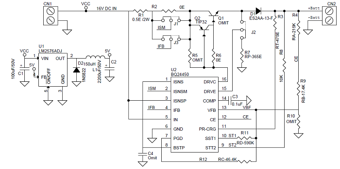 Lead Acid Battery Charger Schematics