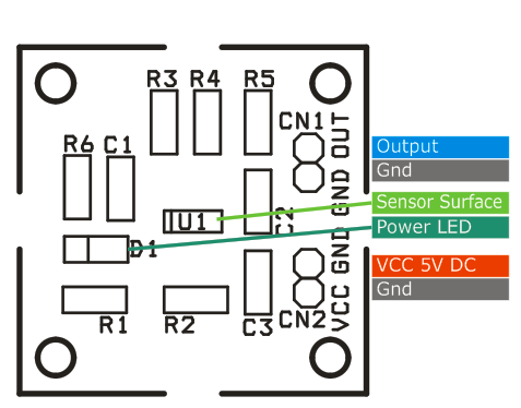 magnetic field sensor with linear output using ad22151 3 circuit rh twovolt com