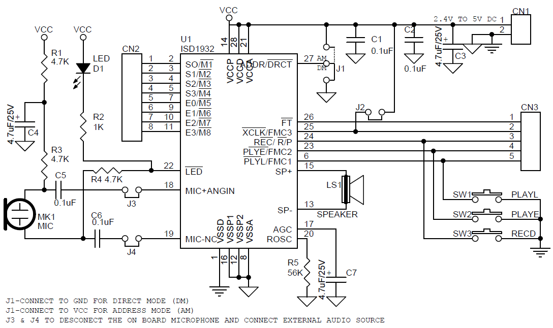 alarm \u0026 voice archives circuit ideas i projects i schematics iexample circuit for multiple switch connections