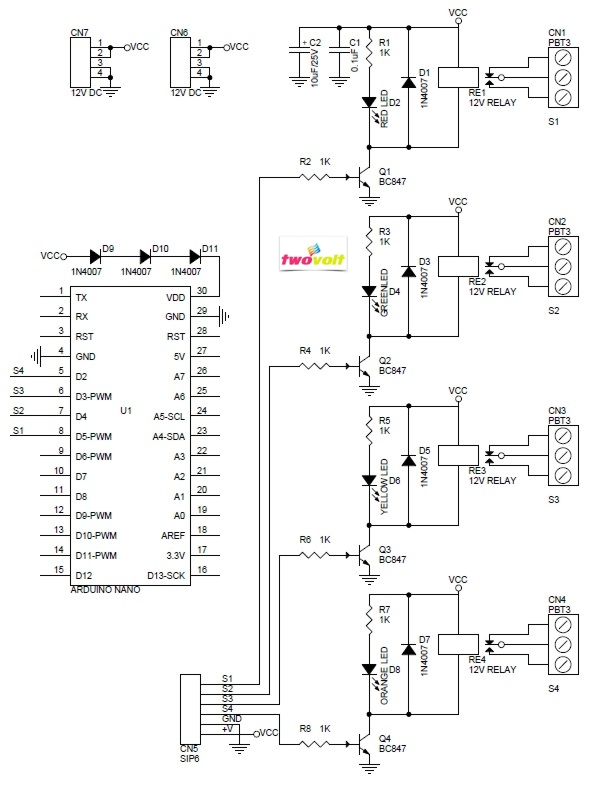 Relay Driver & Solid State Relay Archives - Circuit Ideas I Projects