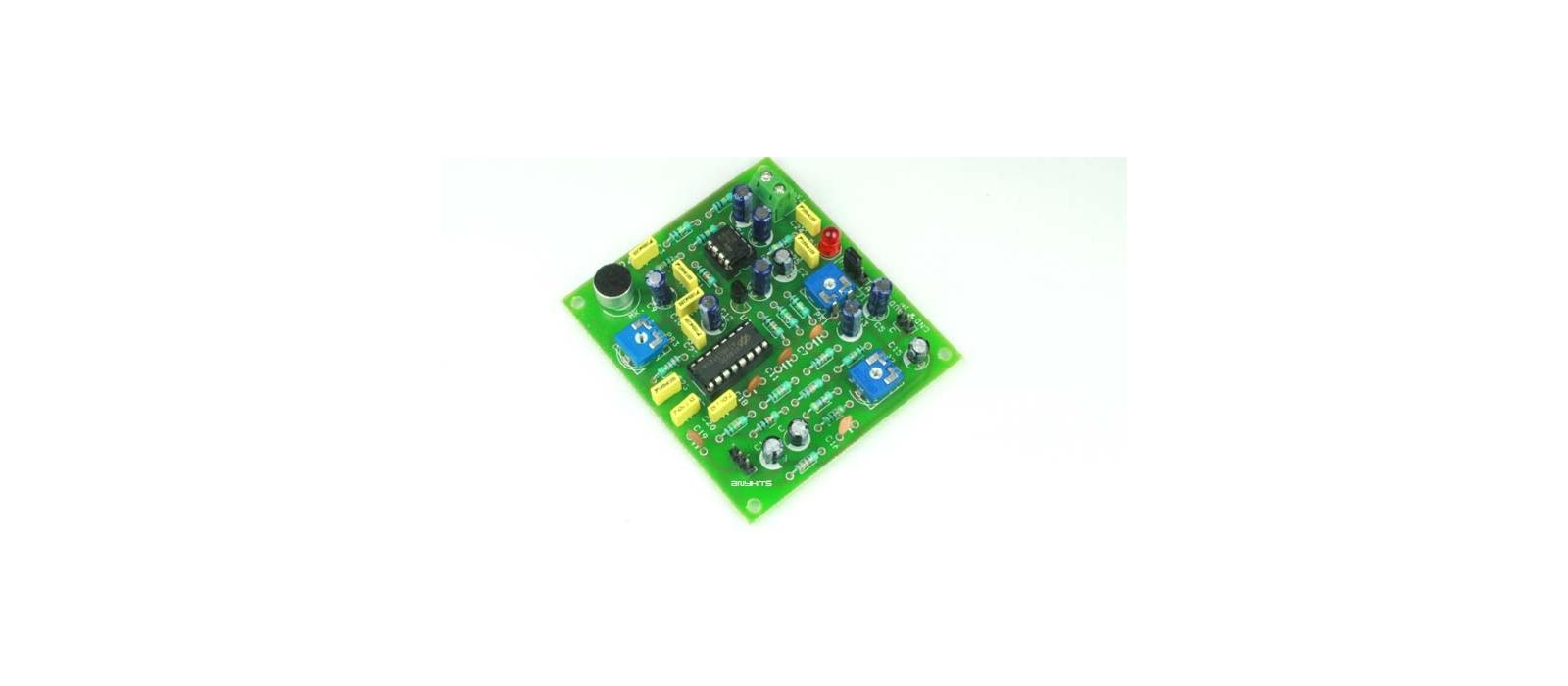 Voice Echo Generator Sound To Converter Circuit Audio Generators Projects Circuits 9 Ideas I Schematics Robotics