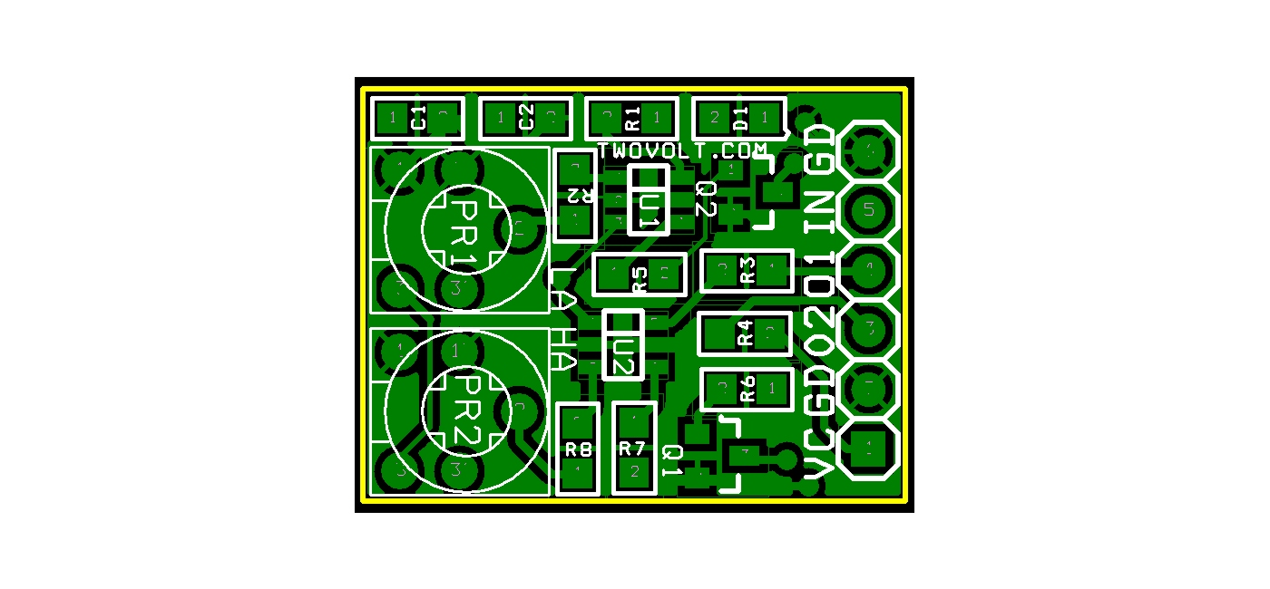 Misc Projects Circuit Ideas I Schematics Robotics Digram Connecting Seven Segments Led And Ldr D1 Indicates The Power All Connection Can Be Done Using Cn1 Header Connector Capacitors Resistors Leds Are Smd Components Size 0805