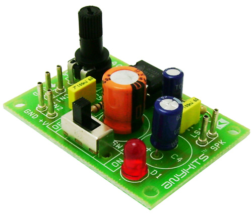 1.6W MONO AUDIO AMPLIFIER  USING TDA7231 (1)