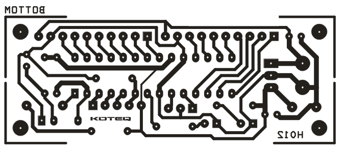 16-channel-infra-red-remote-controller-pcb bottom