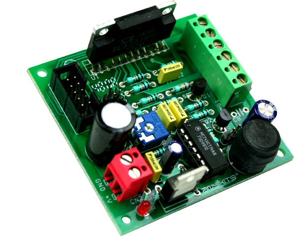 3A Unipolar Stepper Motor Driver with Micro Stepping and Auto Half current using sla7078mpr (1)