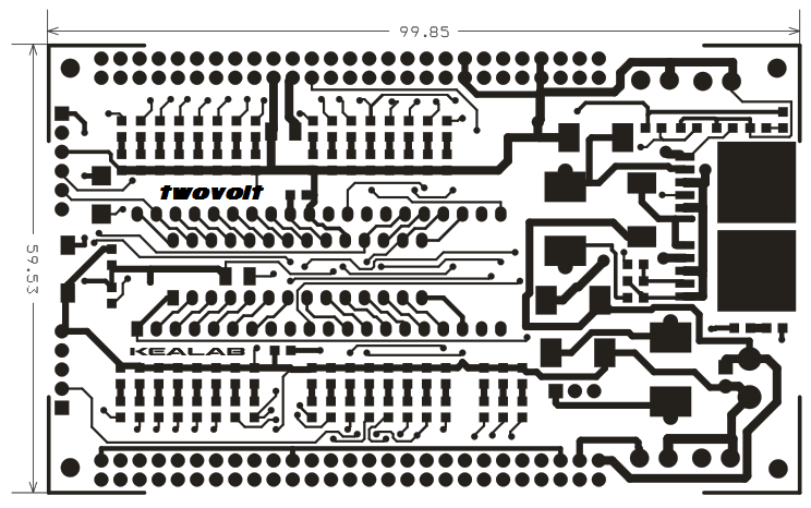 40 & 28 PIN Development Boards on Board 3V3 5V Switching converters (3)