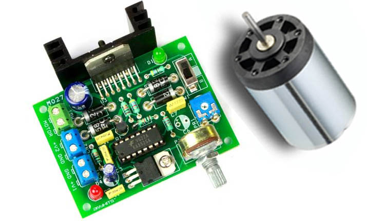 DC Motor Speed & Direction Controller Using L298 and SG3525 (1)