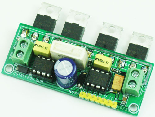 H-BRIDGE 10AMPS USING MOSFETS IR2104-IR2101 (1)