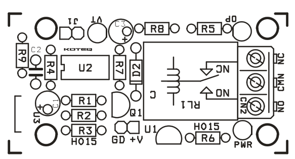 ONE CHANNEL IR REMOTE CONTROLLER (4)