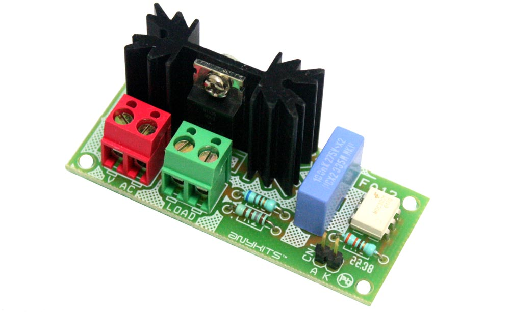 Solid State AC Relay Descreet Circuit Using Traic (1)