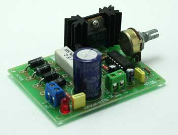 VARIABLE POWER SUPPLY 2.6V TO 24V DC 1AMP USING LM723 (1)