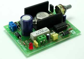 VARIABLE POWER SUPPLY 2.6V TO 24V USING LM723 (1)
