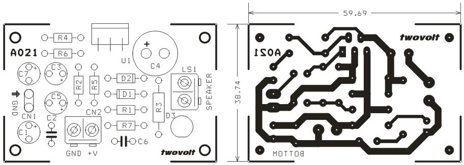 12W Mono Audio Amplifier Circuit (2) - Circuit Ideas I