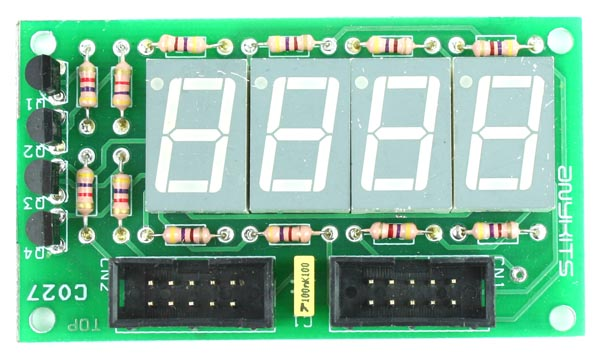 4 DIGIT 7 SEGMENT MULTIPLEXED DISPLAY (1)