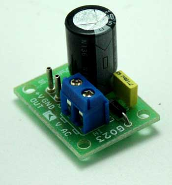 HALFWAVE RECTIFIER POWER SUPPLY