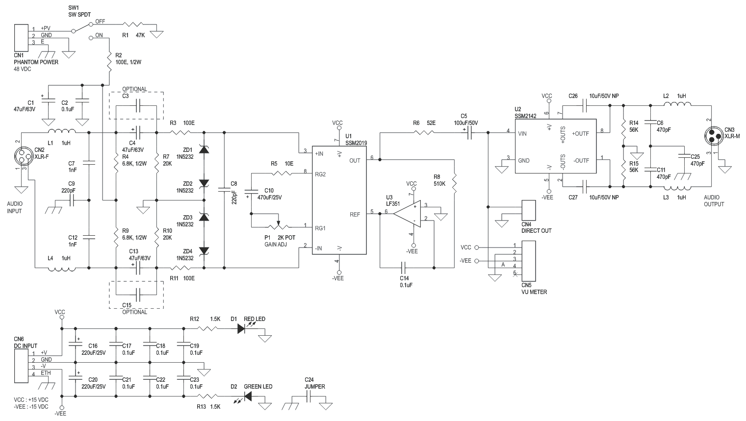 Pretone Low Volt Cost Circuit Diagram Super 5532 Ic Mic Preamplifire Wiring Library Hi End Microphone Pre Amplifier 3