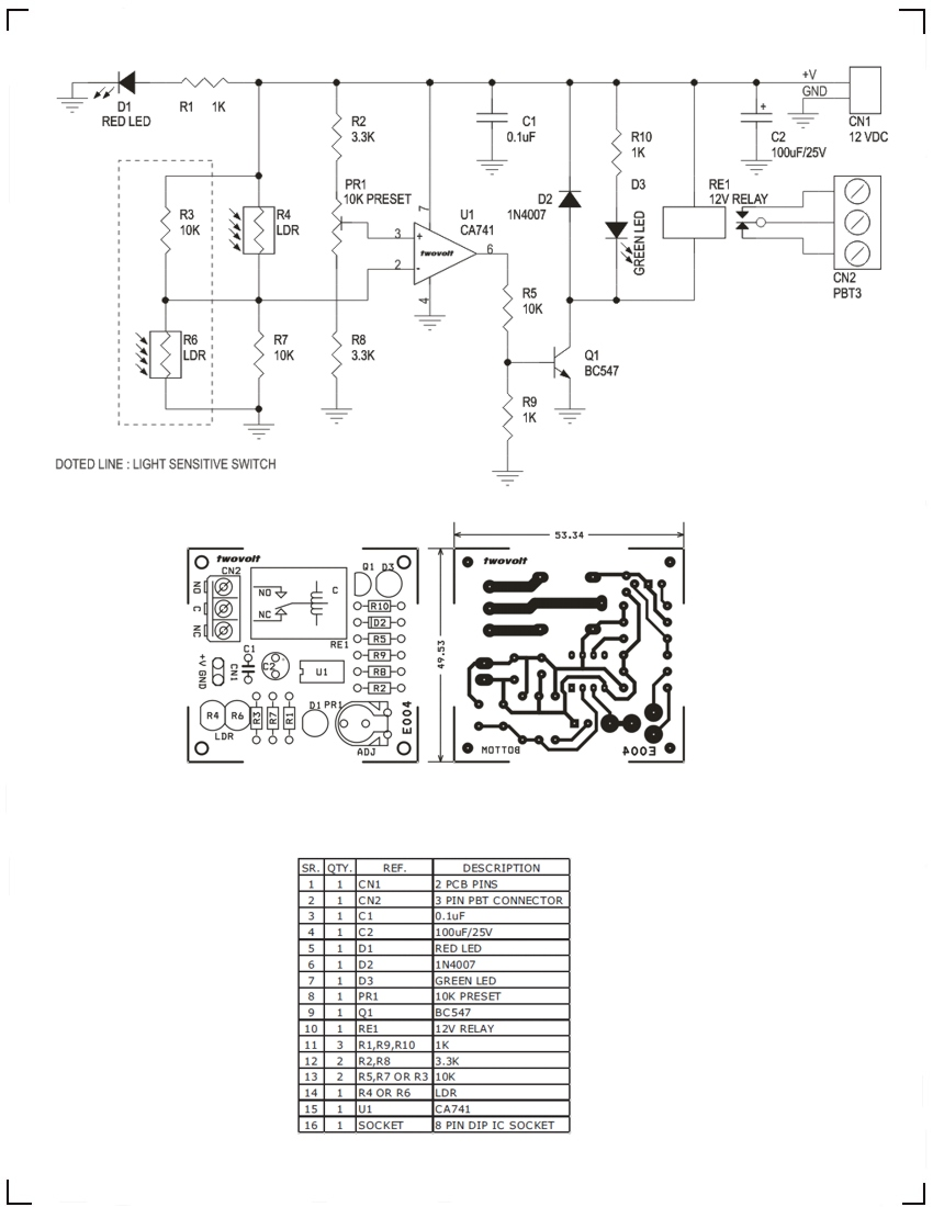 Timers Controllers Archives Page 3 Of 4 Circuit Ideas I Relay Using Bc547 Light Or Dark Sensitive Switch 2