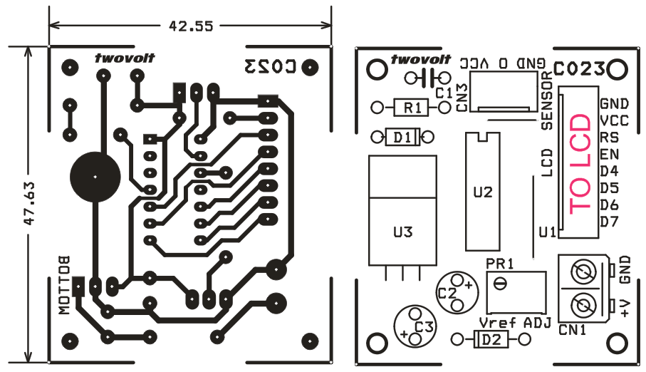 TEMPERATURE READER USING LM35 SENSOR AND PIC16F676 (2)