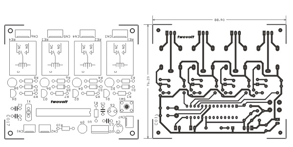 4-channel-rc-signal-to-switch-using-pic16f873-and-relay-schematic-pcb