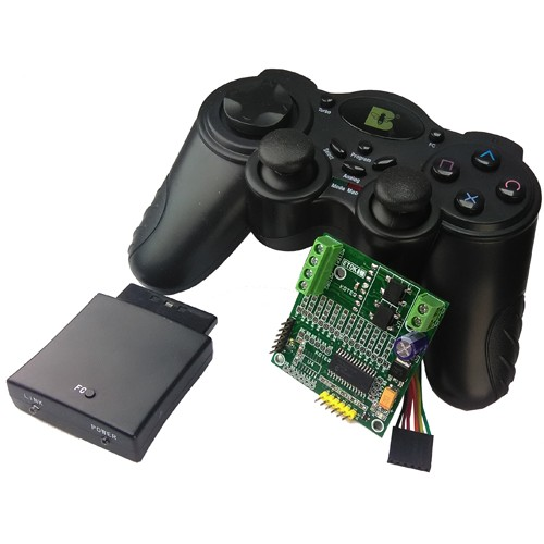 ps2-wireless-remote-robot-controller