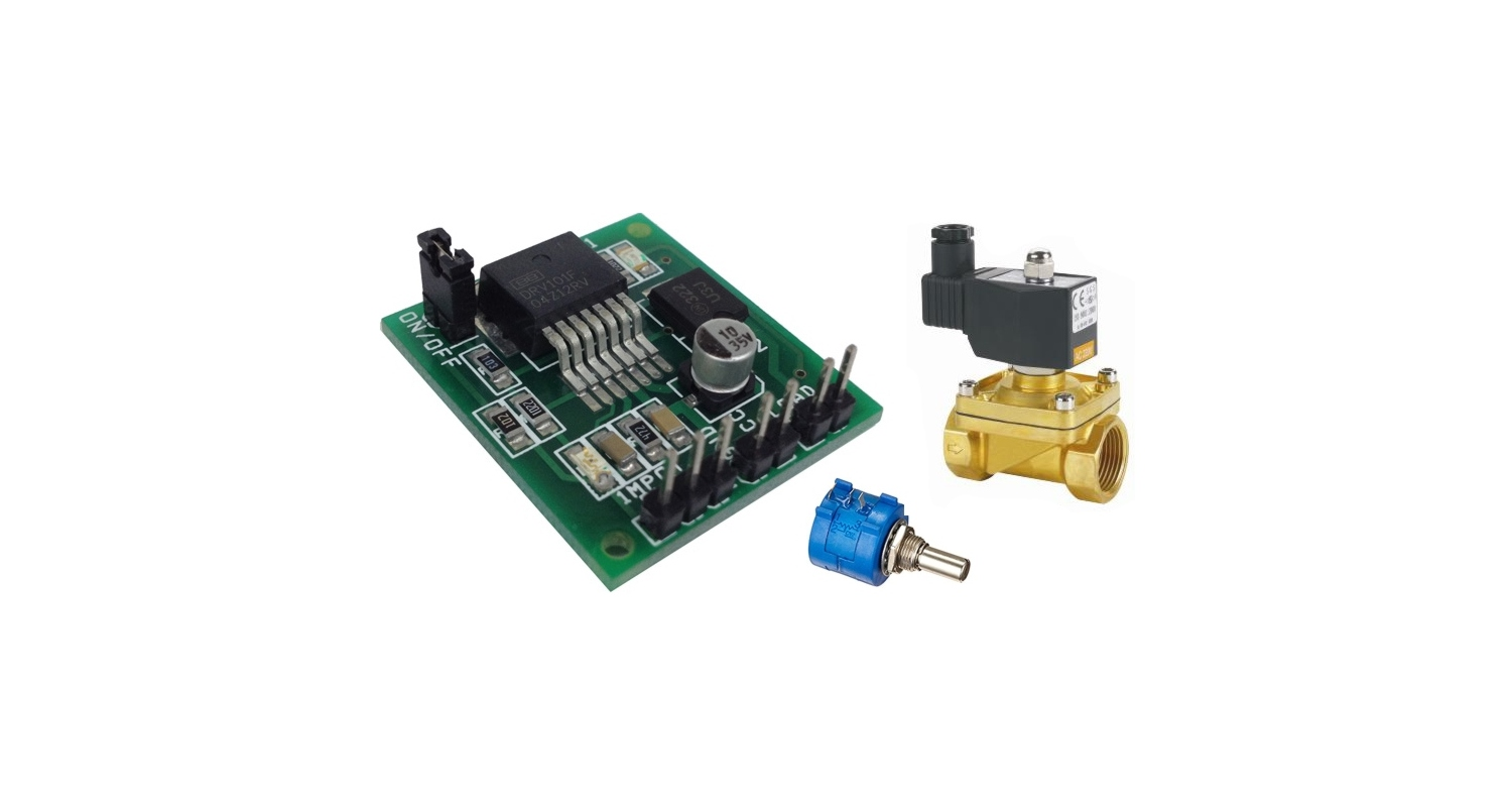 Pwm 2 Amp Solenoidvalveheater Driver Using Drv101 Circuit Ideas Control Ic 555 Image I Projects Schematics Robotics