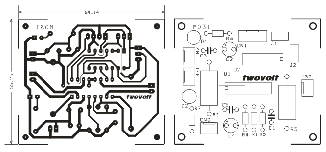 dual full-bridge pwm motor driver with brake using a3968  4