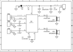 3 1W Stereo-SE Audio Power Amplifier with DC Volume Control