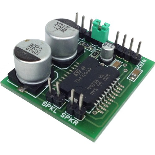 Stereo Audio Amplifier Using Ic Tda2822
