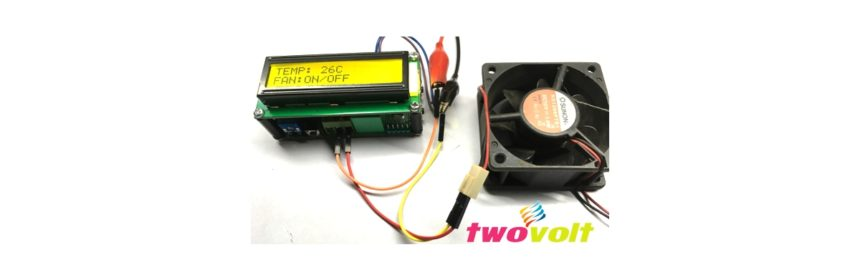 Temperature Controlled Fan ON-OFF Switch Using Arduino Nano